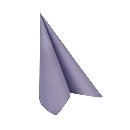 Partytischdecke.de | Serviette 25x25 Royal flieder 20 Stück