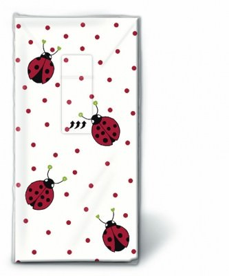 Motiv Taschentücher Päckchen Ladybirds and dots 10 Stück