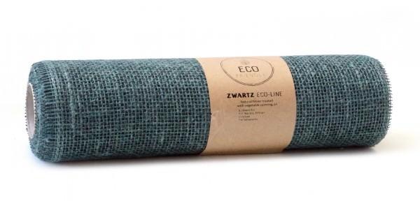 Partytischdecke.de | Juteband jeans blue Eco Line 30 cm x 5 m