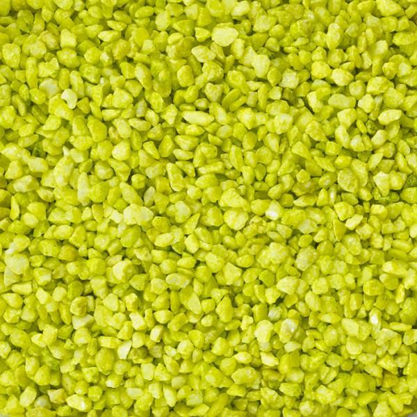 Partytischdecke.de | Granulat kiwi 2-3 mm 1 kg Beutel