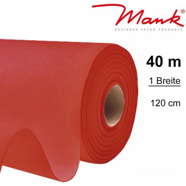Partytischdecke.de | Tischdecke Mank Linclass 1,20 x 40 m rot