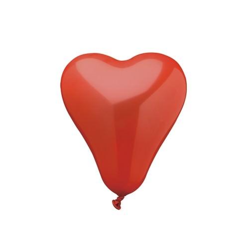 Partytischdecke.de | Luftballon rotes Herz small 50 Stück