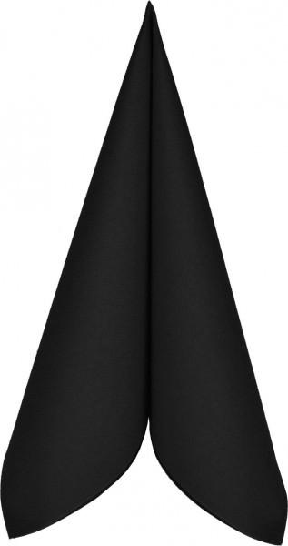Serviette Mank Linclass 25x25 schwarz 50 Stück