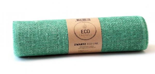 Partytischdecke.de | Juteband pistache Eco Line 30 cm x 5 m