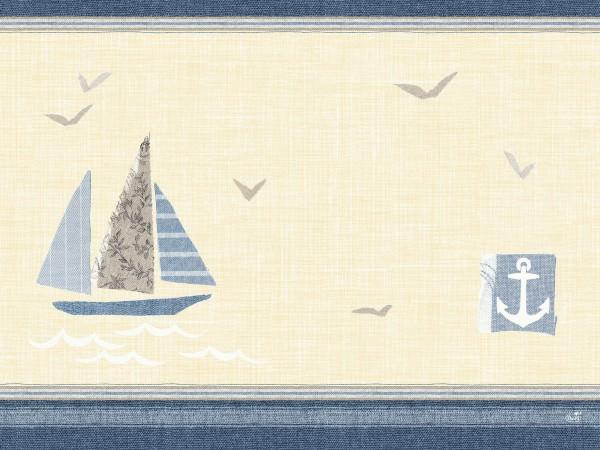 Partytischdecke.de | Duni Tischset Dunicel 30x40 cm Seaway