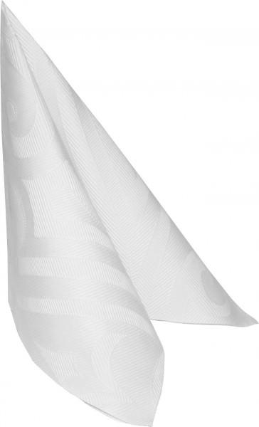 Partytischdecke.de | Duni Serviette Elegance Lily 40x40 weiss