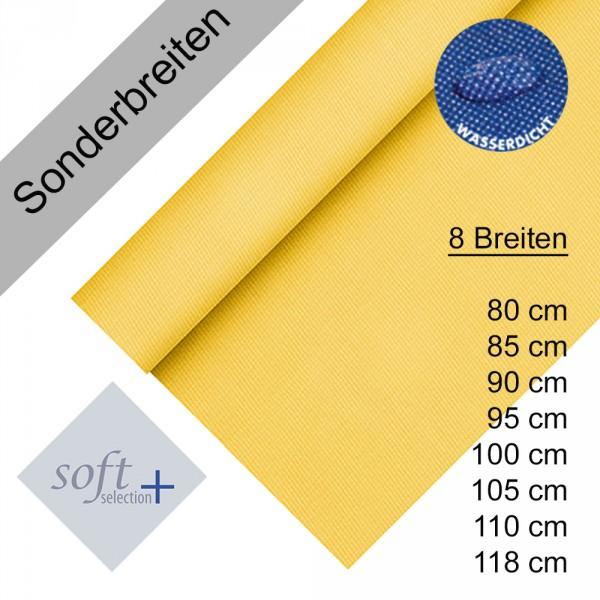 Partytischdecke.de | Tischdecke Soft Selection Plus gelb 25 lfm Auswahl