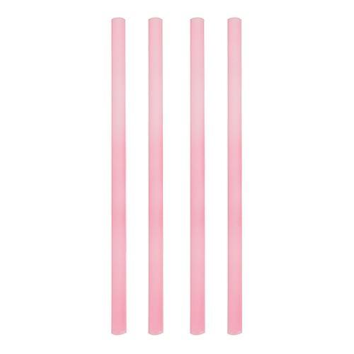 Partytischdecke.de   Shake-Halme Ø 8 mm x 25 cm rosa