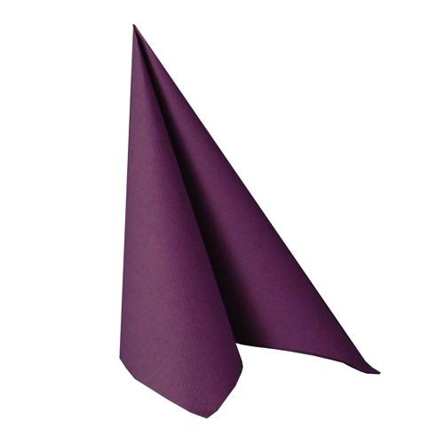 Partytischdecke.de | Serviette 33x33 Royal lila 20 Stück
