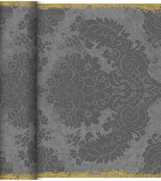 Partytischdecke.de   Duni Tischläufer 40 cm x 24 m Dunicel Royal Granite Grey