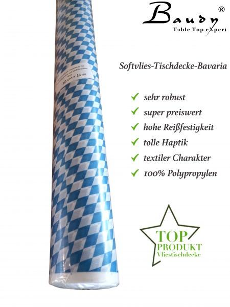 Partytischdecke.de | Softvlies Tischdecke Bavaria mit bayerischer Raute