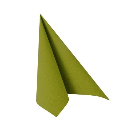 Partytischdecke.de | Serviette 33x33 Royal olivegrün 20 Stück