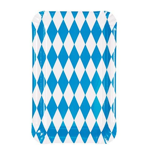 Partytischdecke.de | Pappteller Bavaria 13 x 20 cm 50 Stück