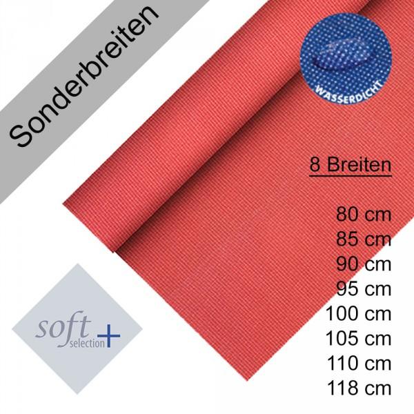 Partytischdecke.de | Tischdecke Soft Selection Plus rot Auswahl