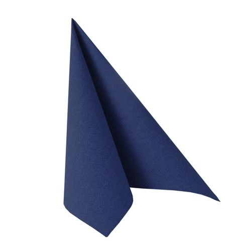 Partytischdecke.de | Serviette 40x40 Royal dunkelblau 20 Stück