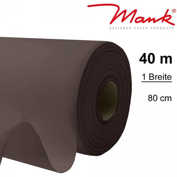 Partytischdecke.de | Tischdecke Mank Linclass 0,80 x 40 m braun