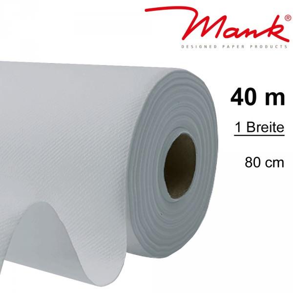 Partytischdecke.de | Tischdecke Mank Linclass 0,80 x 40 m perlgrau