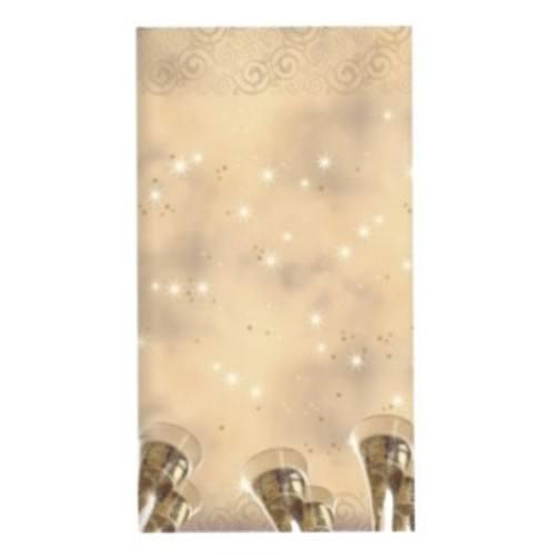 Tischdecke Airlaid 1,2 x 1,8 New Year's Eve lackiert 1Stück