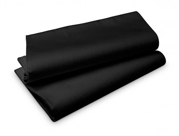 Partytischdecke.de | Duni Evolin Tischdecke 1,27 x 1,80 m schwarz