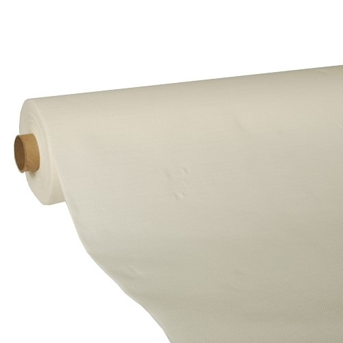 Partytischdecke.de | Papiertischdecke, Royal Collection 1,18 x 25 m champagner