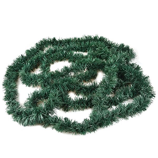 Festgirlande Ø 6 cm x 5 m Tannengrün, flammensicher