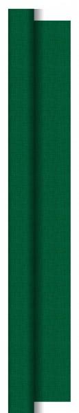 Partytischdecke.de   Tischdecke 1,18 m x 25 m Dunisilk+ Linnea dunkelgrün