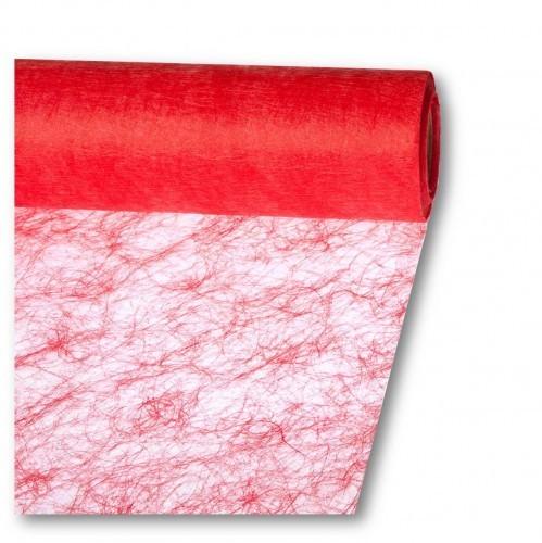 Partytischdecke.de | Sizoflor® Wave Tischband feuerrot 23 cm x 25 m