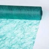 Partytischdecke.de   Sizoflor® Wave Tischband türkis 23 cm x 25 m