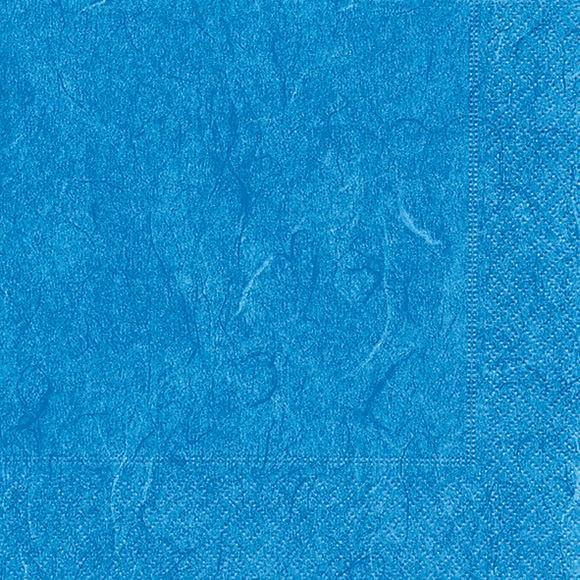 Servietten 25x25 Pure blue 20 Stück
