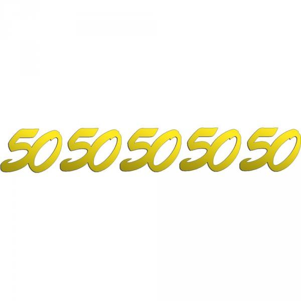 Jubiläumszahlen | 50 | Gold 25 g