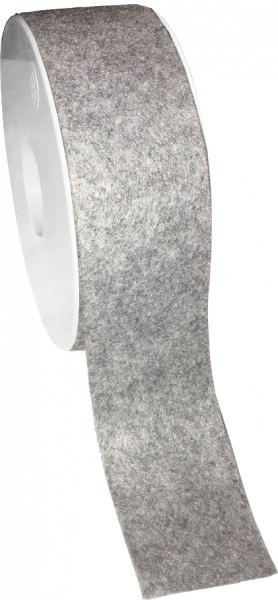Partytischdecke.de | Filzband 40 mm x 10 m grau