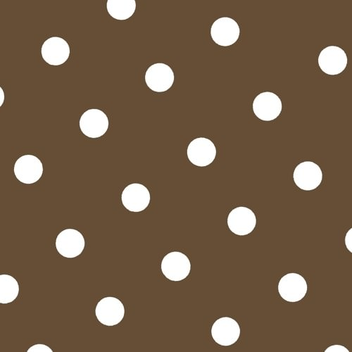 Partytischdecke.de | Serviette 40x40 Trend Dots braun 20 Stück