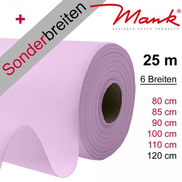 Partytischdecke.de | Tischdecke Mank Linclass hellrosa 25 m x Breite