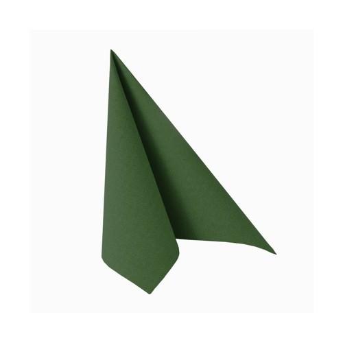 Partytischdecke.de | Serviette 25x25 Royal dunkelgrün 20 Stück