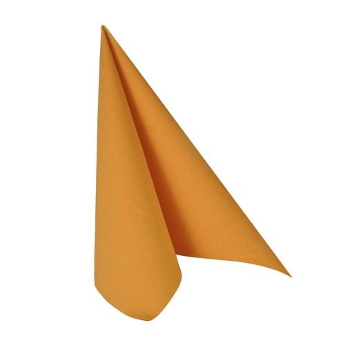 Partytischdecke.de | Serviette 40x40 Royal orange 20 Stück