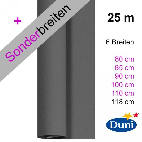 Partytischdecke.de | Tischdecke Dunicel granite grey 25 m x Breite