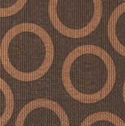 Partytischdecke.de | Servietten 25x25 Circle brown 20 Stück