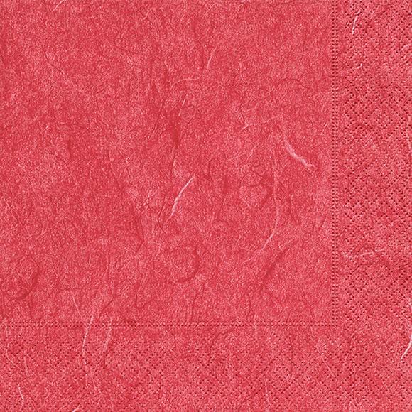 Servietten 25x25 Pure red 20 Stück