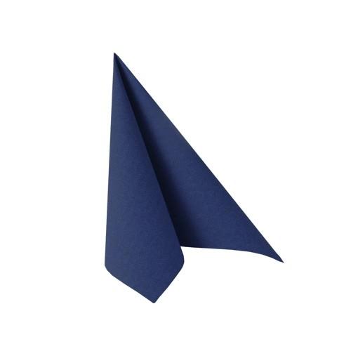 Partytischdecke.de   Serviette 25x25 Royal dunkelblau 20 Stück