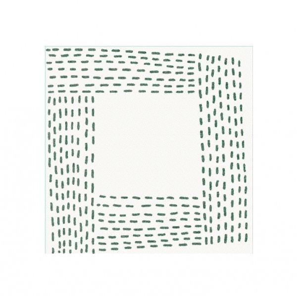 Partytischdecke.de   Serviette    Cottone Cocktail    Street grün 25x25 cm 50 Stk