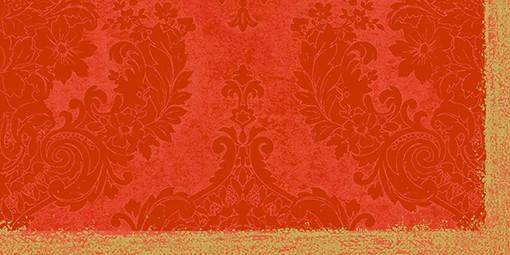 Partytischdecke.de | Mitteldecke 84 x 84 cm Duni Dunicel Royal mandarin