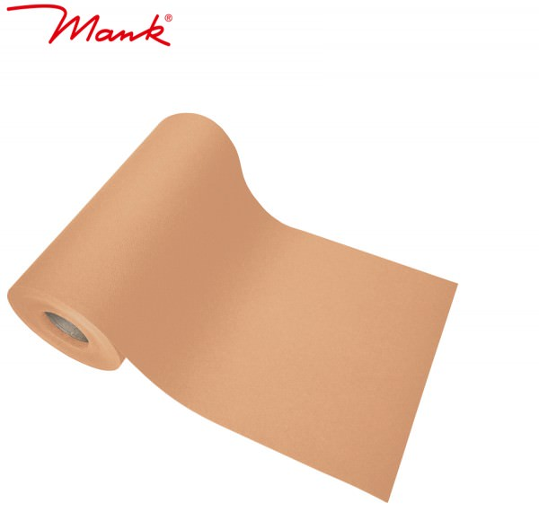 Partytischdecke.de | Tischband Mank Linclass 20 cm x 20 m apricot