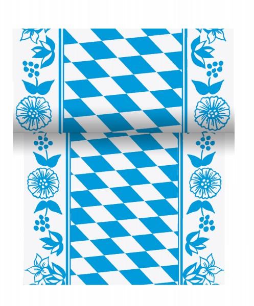 Partytischdecke.de | Duni Tischband Dunicel 15 cm x 20 m Bayerische Raute
