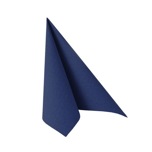 Partytischdecke.de | Serviette 33x33 Royal dunkelblau 20 Stück