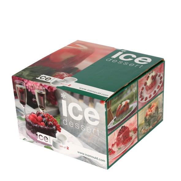 Partytischdecke.de | Eis-Form Dessertset 1 Paar
