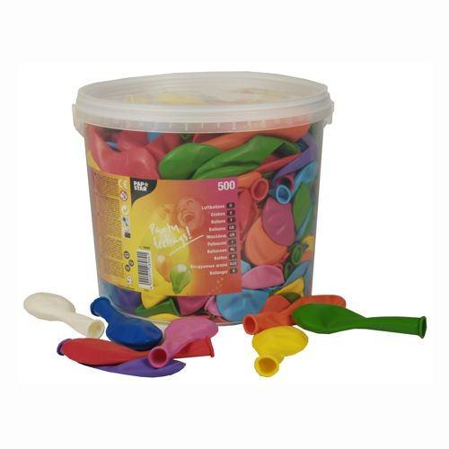Partytischdecke.de | Luftballons Ø 22 cm farbig sortiert in Dose 100 Stück