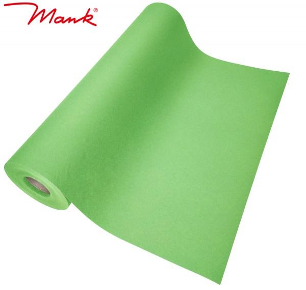 Partytischdecke.de | Tischläufer Mank Linclass 40 cm x 24 m apfelgrün