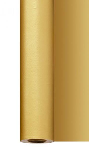 Partytischdecke.de | Tischdecke 1,20 m x 25 m Dunisilk gold