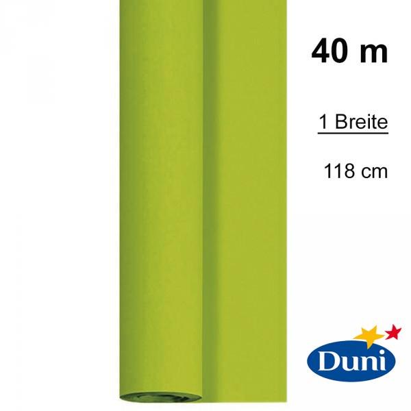 Partytischdecke.de | Tischdecke Duni Dunicel kiwi 40 m