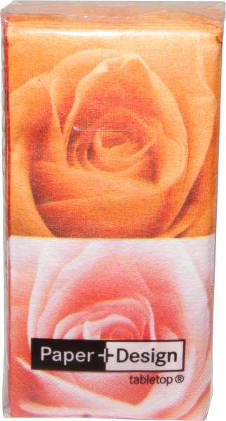 Motiv Taschentücher Päckchen Roses 10 Stück